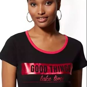 """Good Things Take Time"" Tee"
